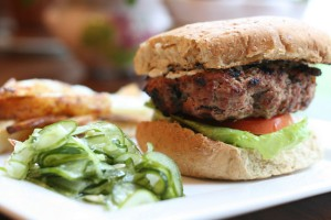 recipe of the week:  dill burger